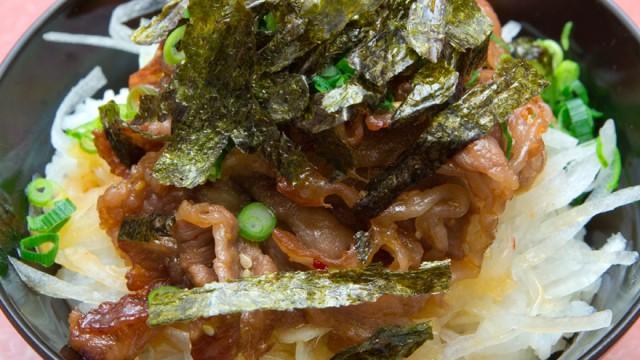 マルナカカルビ牛丼